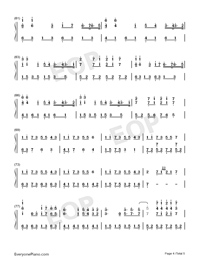 Unity-Alan Walker-Numbered-Musical-Notation-Preview-4