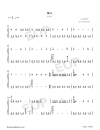 Lover-Beyond-Numbered-Musical-Notation-Preview-1