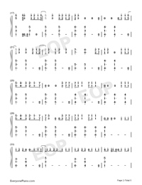 Bulletproof-Griffin Oskar-Numbered-Musical-Notation-Preview-2