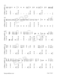 Bulletproof-Griffin Oskar-Numbered-Musical-Notation-Preview-3