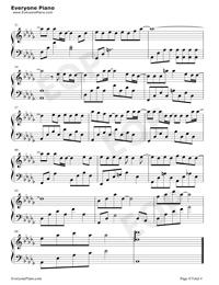 無名之輩-親愛的熱愛的主題曲-陳雪燃釋放熱血正能量五線譜預覽4
