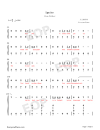 Ignite-Vocal Version-Numbered-Musical-Notation-Preview-1