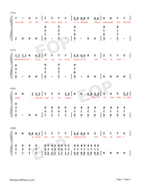 Ignite-Vocal Version-Numbered-Musical-Notation-Preview-7