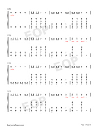 Ignite-Vocal Version-Numbered-Musical-Notation-Preview-8