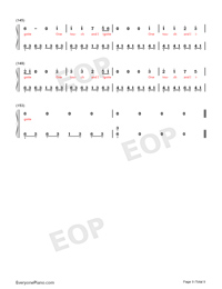 Ignite-Vocal Version-Numbered-Musical-Notation-Preview-9