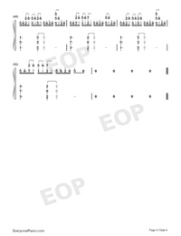 Candy-Rolling Sky-Numbered-Musical-Notation-Preview-4
