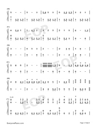 The Chinese Garden-Dancing Line-Numbered-Musical-Notation-Preview-3