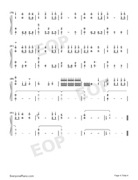 The Chinese Garden-Dancing Line-Numbered-Musical-Notation-Preview-4