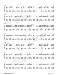Pretend-Da Zhuang-Numbered-Musical-Notation-Preview-2