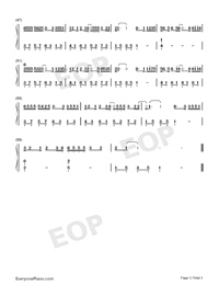 Pretend-Da Zhuang-Numbered-Musical-Notation-Preview-3