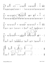 The Beautiful Music From QQ Group-Numbered-Musical-Notation-Preview-2