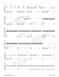 Heaven-Snowflakes-Florian Bur-Numbered-Musical-Notation-Preview-2