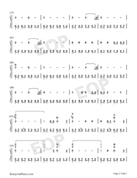 Star Sky Perfect Version-Numbered-Musical-Notation-Preview-2