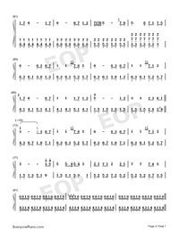 Star Sky Perfect Version-Numbered-Musical-Notation-Preview-4