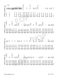 Star Sky Perfect Version-Numbered-Musical-Notation-Preview-5