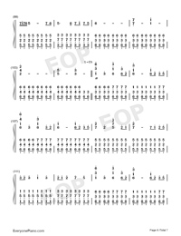 Star Sky Perfect Version-Numbered-Musical-Notation-Preview-6