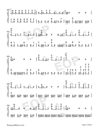 Believe in Yourself-Zero Band-Numbered-Musical-Notation-Preview-4