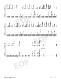 Believe in Yourself-Zero Band-Numbered-Musical-Notation-Preview-8