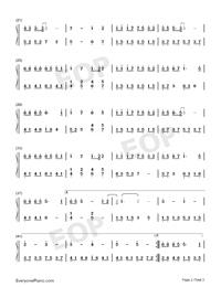 小歡喜-小歡喜同名主題曲雙手簡譜預覽2
