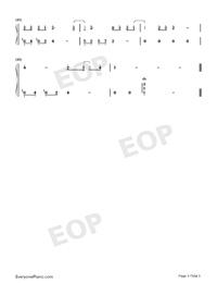 小歡喜-小歡喜同名主題曲雙手簡譜預覽3