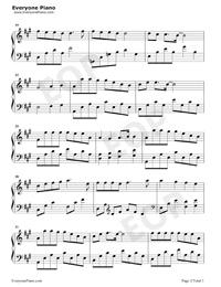 小歡喜-小歡喜同名主題曲五線譜預覽2