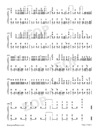 TEMPEST-Demon Lord Retry OP-Numbered-Musical-Notation-Preview-3