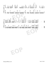 Touch Off-The Promised Neverland OP-Numbered-Musical-Notation-Preview-5