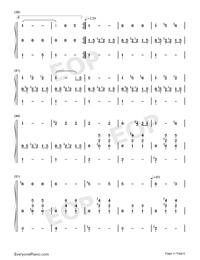 Angels Serenade-Gaetano Braga-Numbered-Musical-Notation-Preview-3