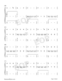 Angels Serenade-Gaetano Braga-Numbered-Musical-Notation-Preview-4