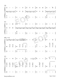 Angels Serenade-Gaetano Braga-Numbered-Musical-Notation-Preview-5