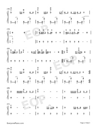 Arcade-Eurovision Song Contest 2019-Numbered-Musical-Notation-Preview-2