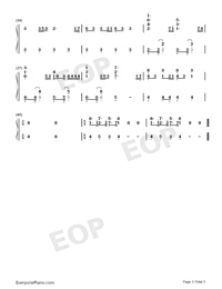 Arcade-Eurovision Song Contest 2019-Numbered-Musical-Notation-Preview-3