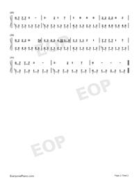 Tango to Evora-Loreena McKennitt-Numbered-Musical-Notation-Preview-2
