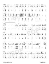 The Battle of Aughrim-Na Casaidigh Numbered Musical Notation Preview 4