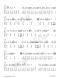 The Battle of Aughrim-Na Casaidigh Numbered Musical Notation Preview 5