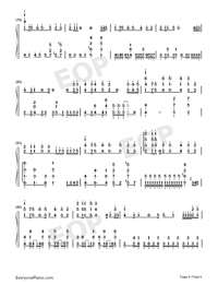 Tricolour Lovestory-Numbered-Musical-Notation-Preview-8
