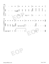Let You Go-Hua Chenyu-Numbered-Musical-Notation-Preview-6