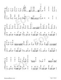 Rakuen Toshi-COP CRAFT OP-Numbered-Musical-Notation-Preview-3