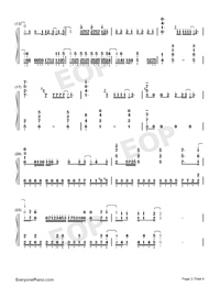Good Morning World-Dr Stone OP-Numbered-Musical-Notation-Preview-2