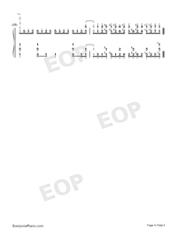 Good Morning World-Dr Stone OP-Numbered-Musical-Notation-Preview-4