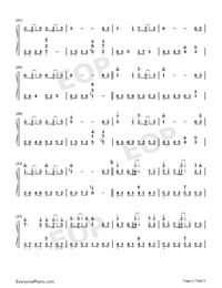 Oborozuki-Full Version-Numbered-Musical-Notation-Preview-2