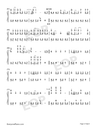 Oborozuki-Full Version-Numbered-Musical-Notation-Preview-4