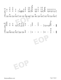 Oborozuki-Full Version-Numbered-Musical-Notation-Preview-5