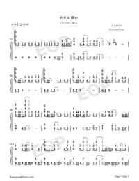 Chīsana Omoi-Isekai Cheat Magician ED-Numbered-Musical-Notation-Preview-1