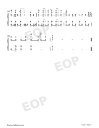 Chīsana Omoi-Isekai Cheat Magician ED-Numbered-Musical-Notation-Preview-3