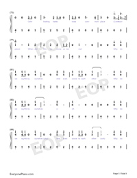 Back to Beautiful Numbered Musical Notation Preview 5