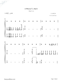 A Winters Ball-Hamilton OST-Numbered-Musical-Notation-Preview-1