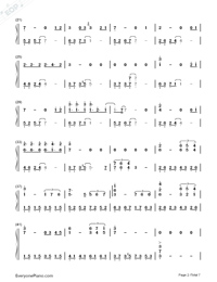 Love For Eternity-Chinese Paladin 3 Theme-Numbered-Musical-Notation-Preview-2