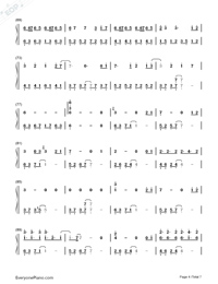 Love For Eternity-Chinese Paladin 3 Theme-Numbered-Musical-Notation-Preview-4
