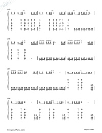 First Love Confession-TFBOYS-Numbered-Musical-Notation-Preview-3